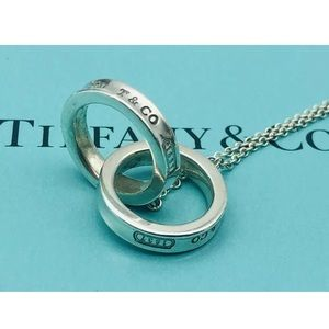 Tiffany & Co interlocking rings necklace